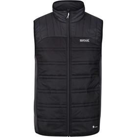 Regatta Halton Bodywarmer Vest Men black/ash/rhino
